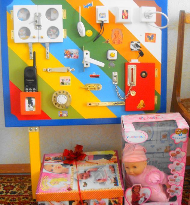 Развивающие пособия для детей до года своими руками 777