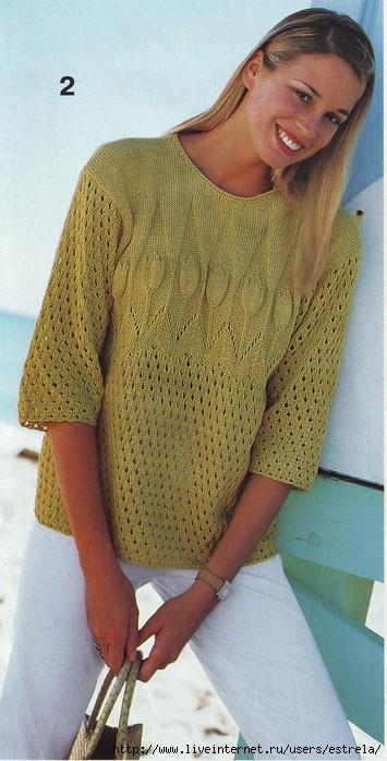 Пуловер С Пальмой Доставка