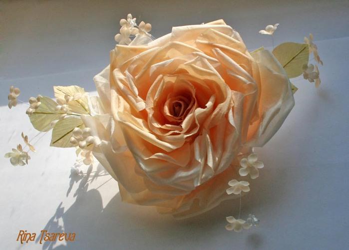 Выкройка Розы Из Ткани