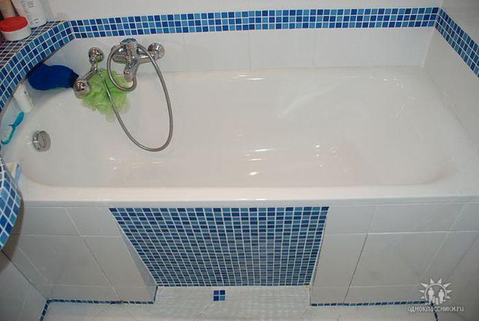 Ремонт ванной своими руками фото идеи для