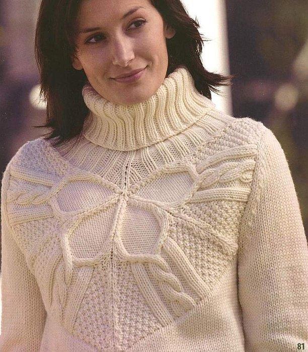 Девочки, подскажите где можно найти описание этого свитера?