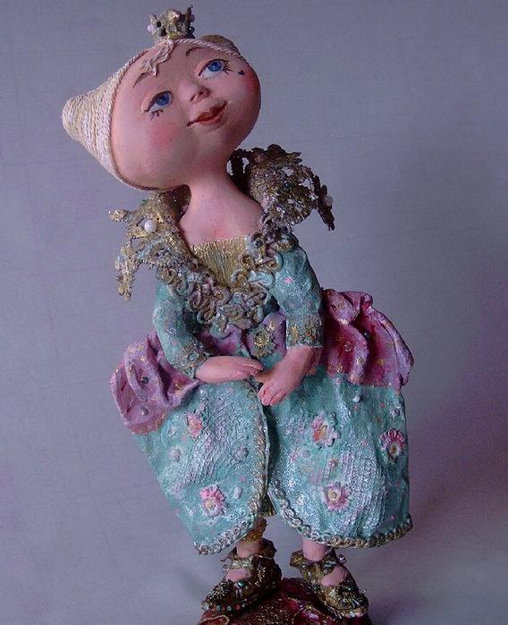 Куклы своими руками из папье маше мастер