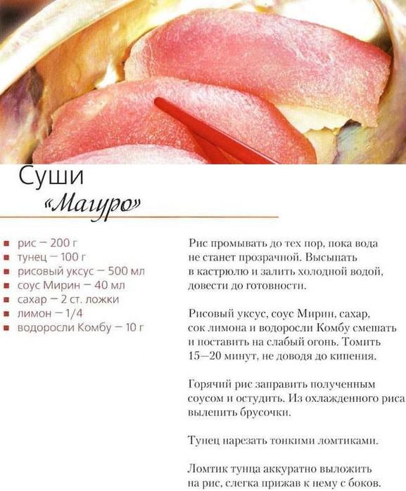 Как приготовить роллы и суши в домашних условиях рецепт с