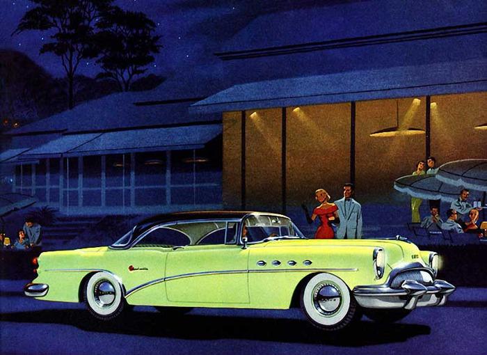 1954 Buick Roadmaster (Бьюик Роадмастер, модель 1954 года)