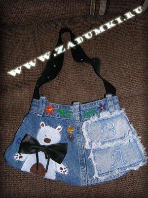 """Похожие статьи на  """"Как сшить сумку из джинсов """""""