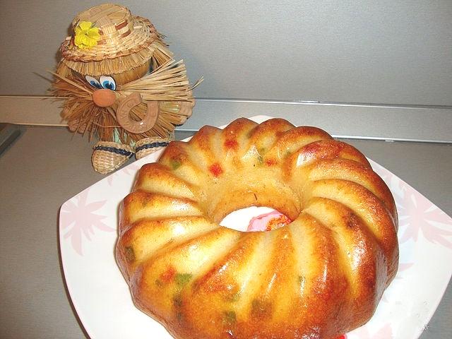 Простые рецепты кексов в большой форме