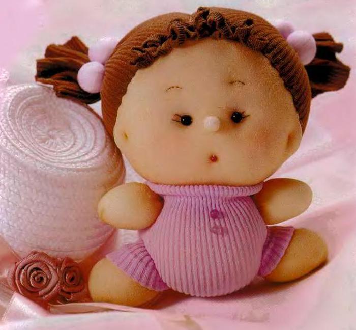 Куклы своими руками из носка фото