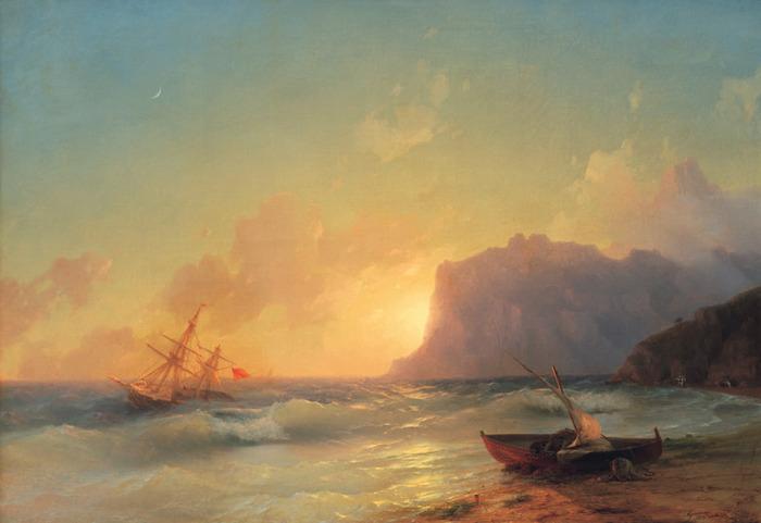 Море коктебель 1853
