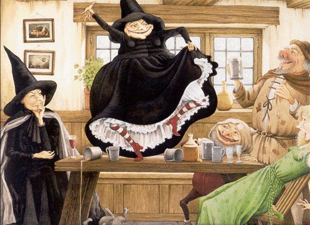 Поздравления с днем рождения ты ведьма 152