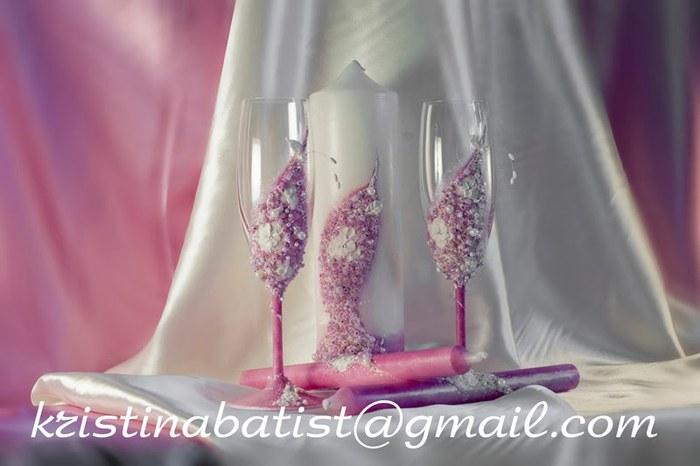 фото свечи для венчания