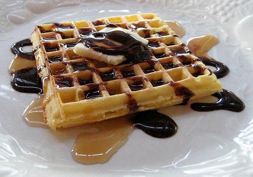мягкие вафли в вафельнице рецепт с фото