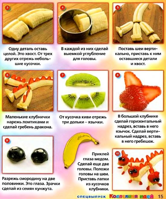 Как делают канапе пошагово
