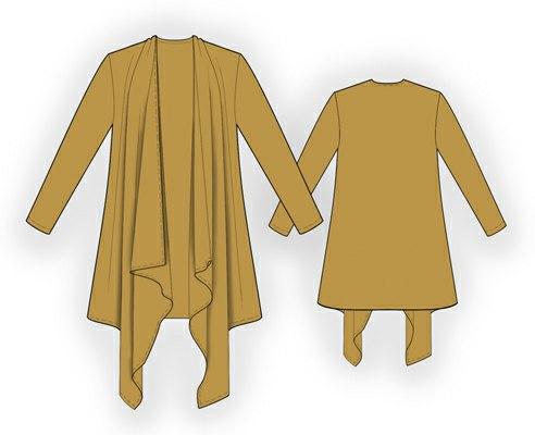 схема вязаного сарафана на девочку лет
