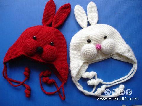 детские шапочки вязанные
