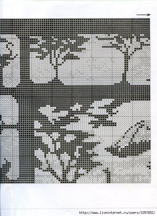 Схема вышивки килиманджаро 64
