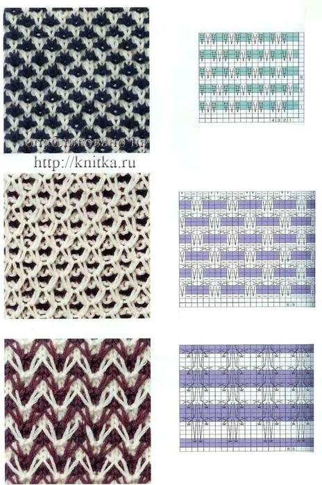 Схема вязания свитере крючком