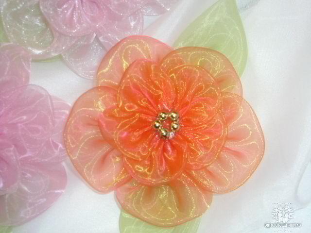Сделать цветок из ткани своими руками мастер класс