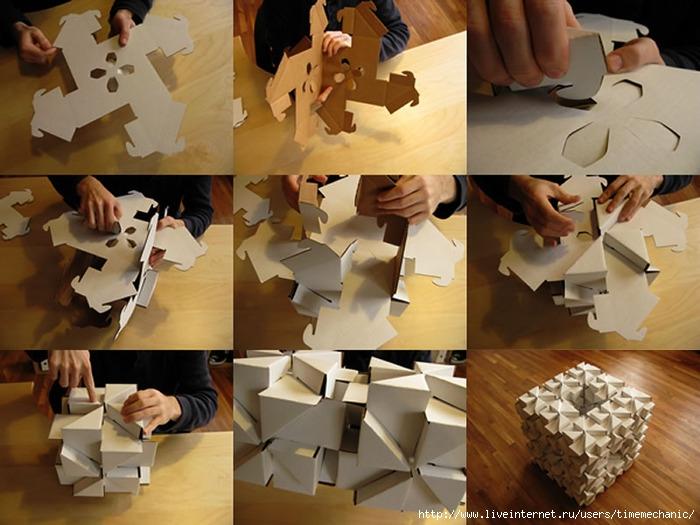 Как сделать какую нибудь вещь из бумаги