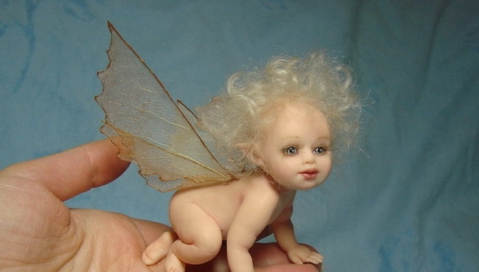 Кукла своими руками с ладошку