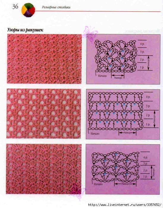 Простые топы крючком схемы фото