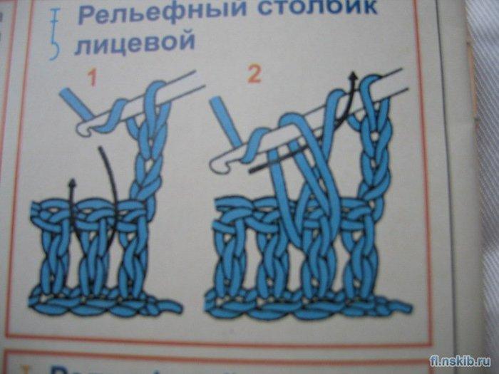 1 ряд - 12 столбиков с накидом (включая подъемный) 2 ряд - 24 столбика с накидом 3 ряд - в каждую вторую.