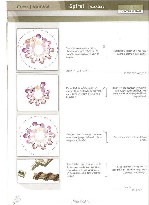 Схема плетения жгутов и украшений из бисера.  (509x699, 49Kb) .