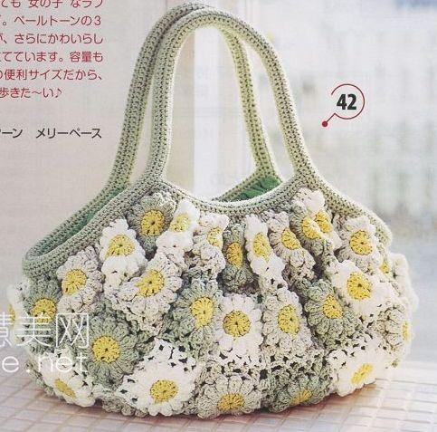 Описание: Вязание крючком сумки летние. вязанные сумки