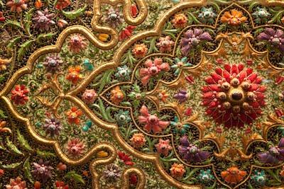 Indian Embroidery Zardozi  Make Handmade Crochet Craft