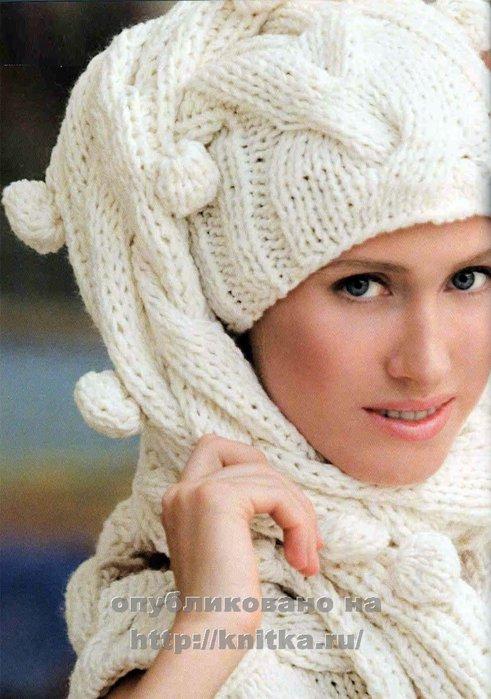 Вязание шапок, вязание шарфов,