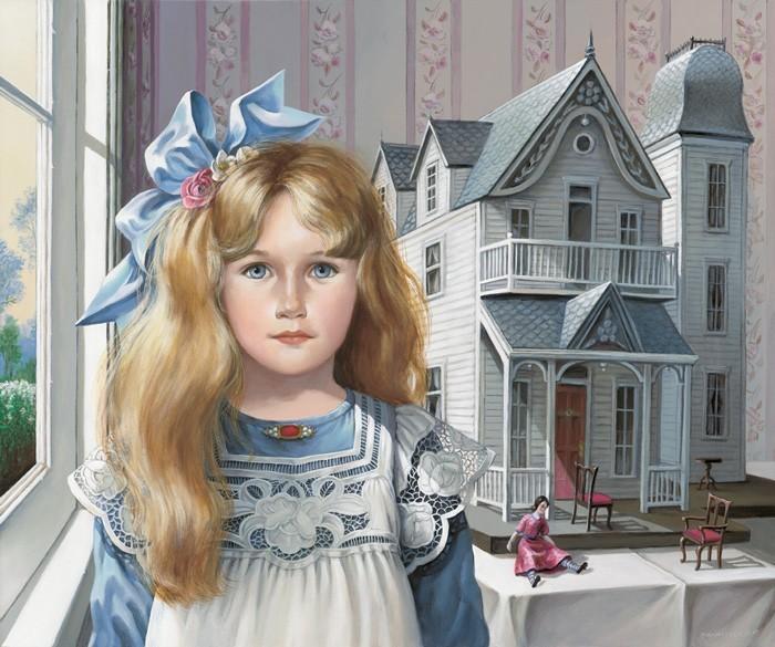 """Схема вышивки  """"Кукольный дом """": таблица цветов."""