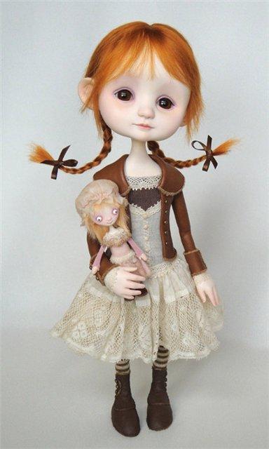 Куклы полимерные своими руками