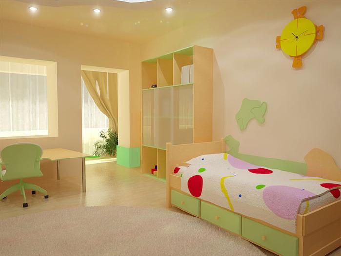 Именно поэтому детская...  Дизайн комнаты для ребёнка считается в дизайне интерьера весьма специфической задачей...