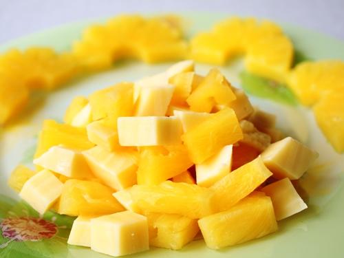 Фото салаты из ананаса с сыром