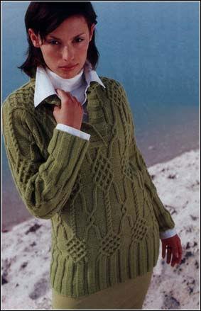 Вязание на спицах Knitting.  МОДЕЛЬ 5. СЕЗОНЫ.