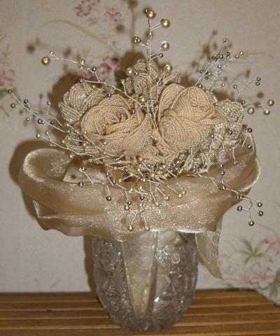 свой цитатник или сообщество!  И на последок восхитительный свадебный букет из конфет.  Свадебные букеты из бисера.