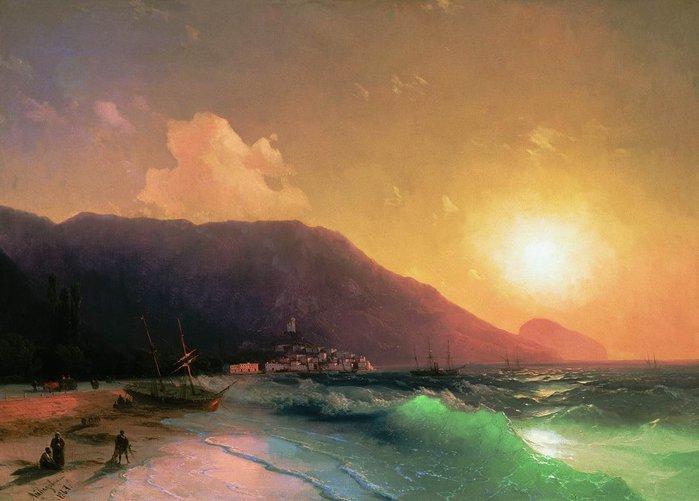 Айвазовский Иван Константинович (1817—1900)- картины.