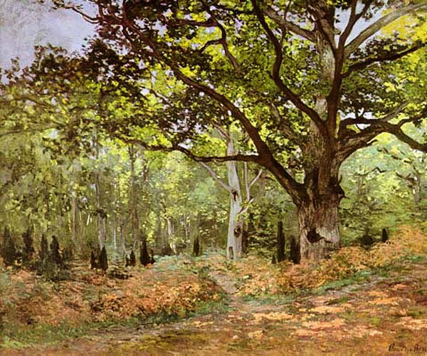 Импрессионизм: ST-ARTI001aBodmer Oak by Monet.