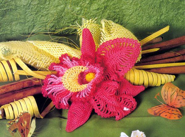 Вышивка цветов и букетов крестиком