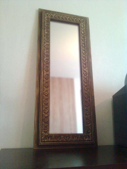 Обновление старого зеркала своими руками 97