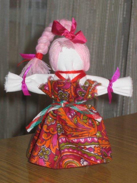 Поделка своими руками кукла