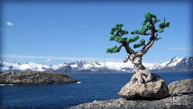 """Бонсай  """"Вдохновение """" - Деревья - Бисерные деревья,композиции,цветы - Галерея - Персональный сайт AnetAnet."""