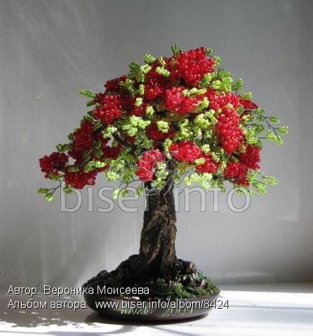 """Техника выполнения дерева из бисера  """"Сакура  """" сакура из бисера цветы."""