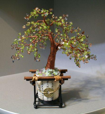 Дерево Счастья Эйва из бисера своими руками.  Без заголовка 101.