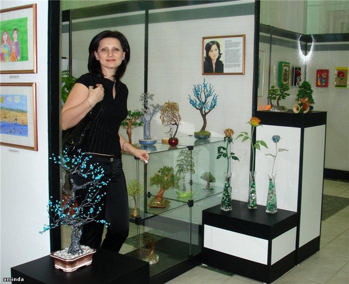 выставка работ из бисера - Всемирная схемотехника.