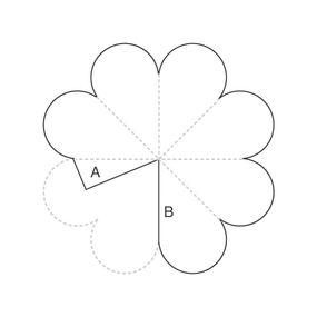 Объемные цветы из бумаги своими руками схемы