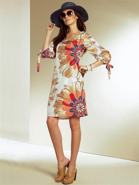 платья из трикотажа 2012