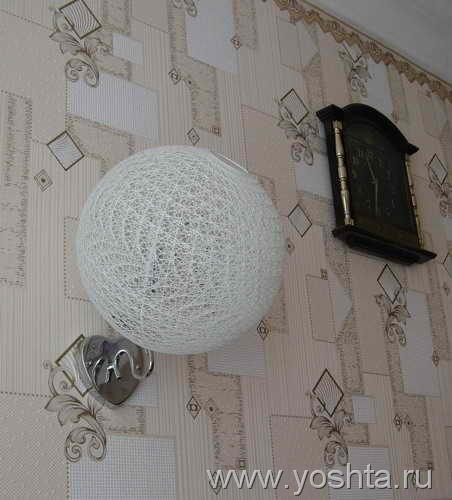 Изготовление шаров из ниток.  Шары можно использовать по-разному.  Кто