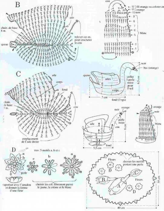 связать голубей крючком схема и описание самостоятельному засыпанию
