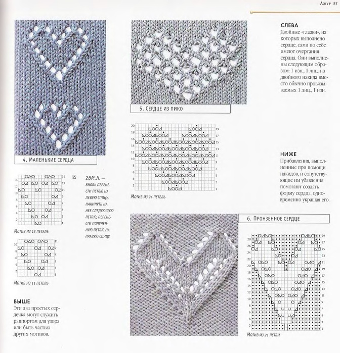 Knitting Pattern For Heart Motif : gift for knitter: beautiful knitting patterns make ...