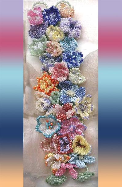 Плетение бисером браслеты с